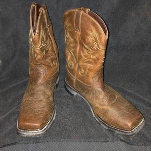 Tony Lama Steel Toe Boots